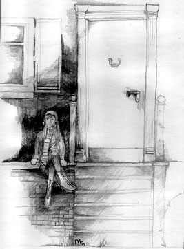 """Zeichnung aus """"Stille Nacht, schwarze Nacht"""" (IVE)"""