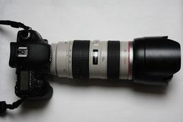 Canon EOS 7d mit EF 70-200 2,8 L USM