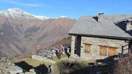 Il rifugio Alpe Colma