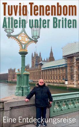 Buchcover Tuvia Tenenbom: Allein unter Briten. Suhrkamp