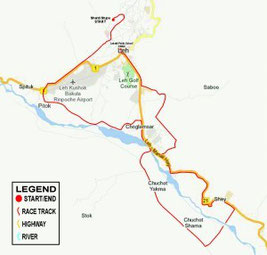Ladakh Marathon Full 42Km, world's highest marathon