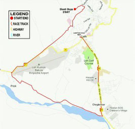 Ladakh Marathon 21Km, Half Marathon, world's highest marathon