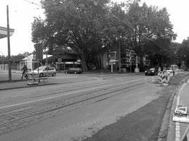Ückendorfer Straße im Bereich der Unfallstelle Foto: © W. Müller
