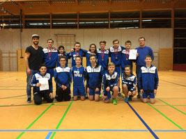 U14 männlich: Beide Teams erfolgreich bei den Württembergischen Meisterschaften