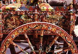 Painted carts od Sicily (Carretti Siciliani)