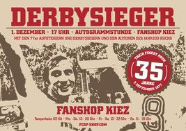 Derbysieger Autogrammstunde im Fanshop Reeperbahn