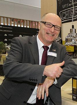 """""""Nachwuchsförderung ist bei uns ein wichtiges Thema"""" - Dr. Torsten Dickau, Leiter des Nestlé Professional Service Centers Foto: TheCulinarian"""
