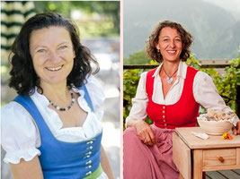 Christine Weber und Helga Graef