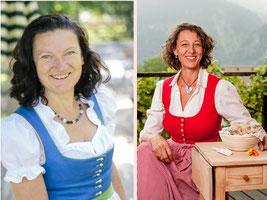 Christine Weber und Helga Graef. Menü & Märchen im Gasthof Gamsjaga