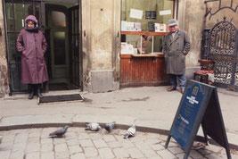 1989年当時のプラハ、ユダヤ博物館