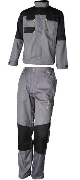 Rouchette, veste et pantalon Graphite, vêtements de protection de sécurité