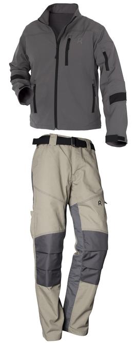 Rouchette, veste Respire et pantalon Expert, vêtements de protection de sécurité