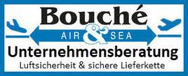 Logo Bouché Air & Sea: Unternehmensberatung Luftsicherheit sichere Lieferkette