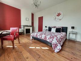 chambre d'hotes avec grand lit