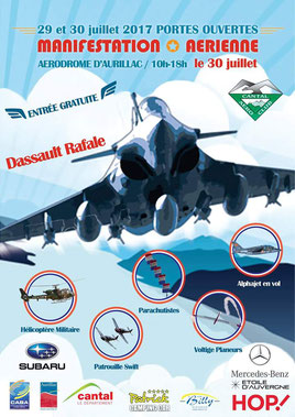 Manifestation Aerienne Aerodrome d aurillac 2017 cantal auvergne