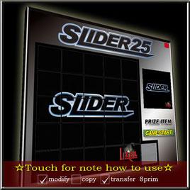SLIDER25