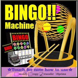 BINGO!!machine
