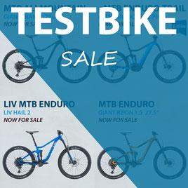 Testbike Sale