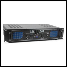 Verstärker mieten verleih Alex Light and Sound SPL 500 EQ