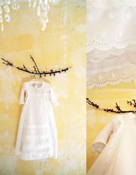 robe de baptême traditionnelle plumeti dentelles création baptême