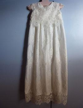 robe de baptême en dentelle de calais emilie plumeti, baptême, traditionnelle