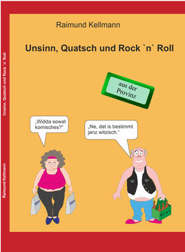 Buch Unsinn Quatsch und Rock n Roll