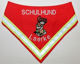 Halstuch Schulhund, Schulbegleithund,Besuchshund