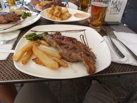 Fleisch zum Abendessen