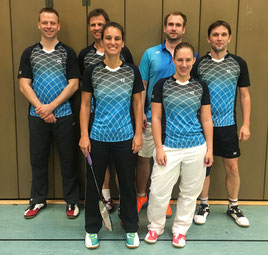 v.l.: Nils Hartmann, Michael Backhaus, Judith Bienen, Ulrich Wolzenburg, Deborah Böhm und Danny Benndorf