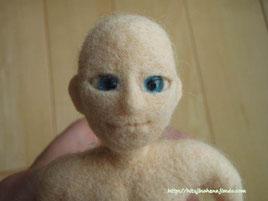 羊毛フェルト 人形 男の子