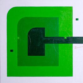 MIDCENTURY E7 11    410mm×410mm   S6   Acrylic   2015