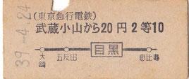 東京急行電鉄東横線