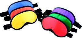 Lot de 6 Masques opaques pour jeux psychomoteurs à acheter pas cher.