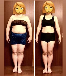 DNAパーソナル痩身 アラフィフ女性 3ヶ月の結果