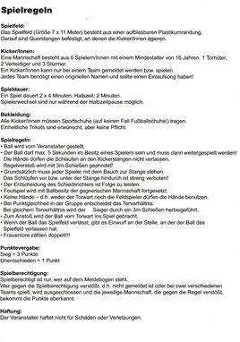 Feuerwehrfest Wildenrath 2019 Spielregeln