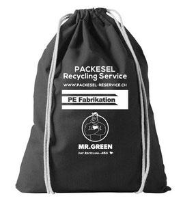 Turnbeutel, gesponsert von PE Fabrikation AG und Mr. Green AG