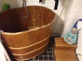 風呂なんです!! スウェーデン人の友人宅で発見