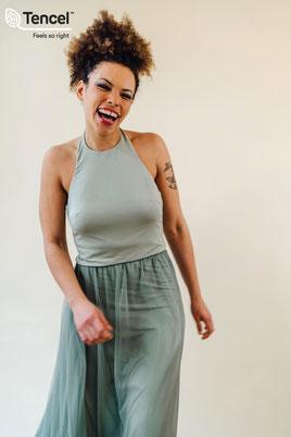 Brautjungfern Top, Zweiteiler, Bridesmaids Shirt