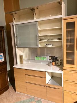 ダイニングボードセット キッチン 食器棚 インテリア 栃木県家具 東京デザインセンター アウトレット 展示処分