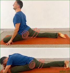 梨状筋ストレッチ,腰痛に役立ちます