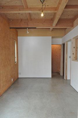 設計施工之コータロー 土間コンクリート仕上げの床