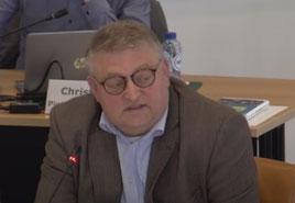 Fractievoorzitter Ruud Lammers