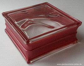 Bormioli Rocco Pure Reflejos Rojo B-Q19 O Glasbausteine-center.de Glasbausteine-center Glass Blocks Glassteine Glasstein Glasbausteine Glasbaustein Rot gler blokkir Glazen bouwstenen Glas Stegels Glasdallen glazen blokken υαλότουβλα Glasbaksteen Glas Blok