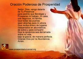 CADENA DE ORACIÓN DE 21 DÍAS- ORACIÓN PODEROSA DE PROSPERIDAD - PROSPERIDAD UNIVERSAL - www.prosperidaduniversal.org