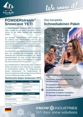Produkt-Info POWDERstream® Snowcave YETI