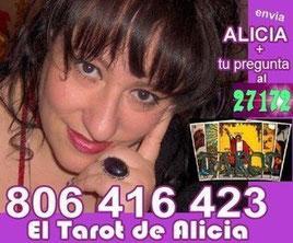 TAROT por SMS. ENVIA ALICIA+ tu pregunta al 27172