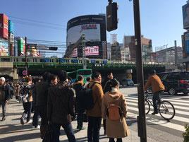 新宿大ガード 青梅街道