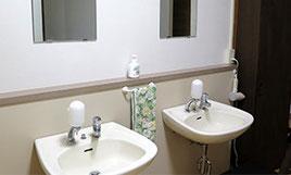 洗面所(1階にはドライヤー完備)