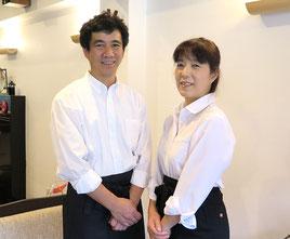 オーナーの田村博文・万里子です!