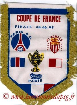 Moyen fanion PSG-Monaco 1984-85